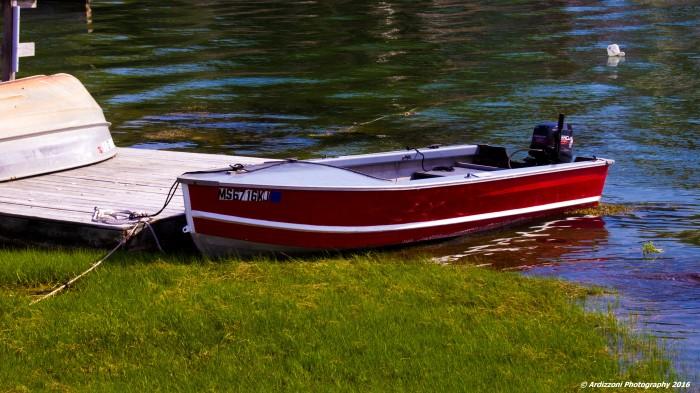 May 31, 2016 Red Boat at Corliss Landing