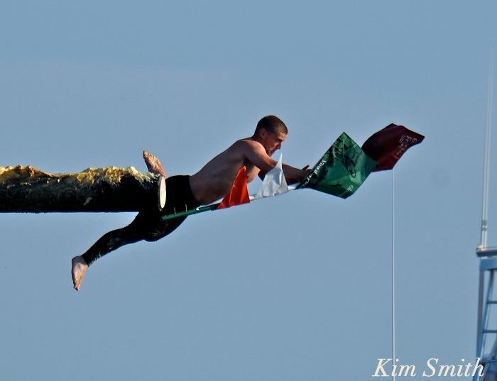 Michael Sanfillipo Friday Greasy pole Champion 2016 -2 copyright Kim Smith copy