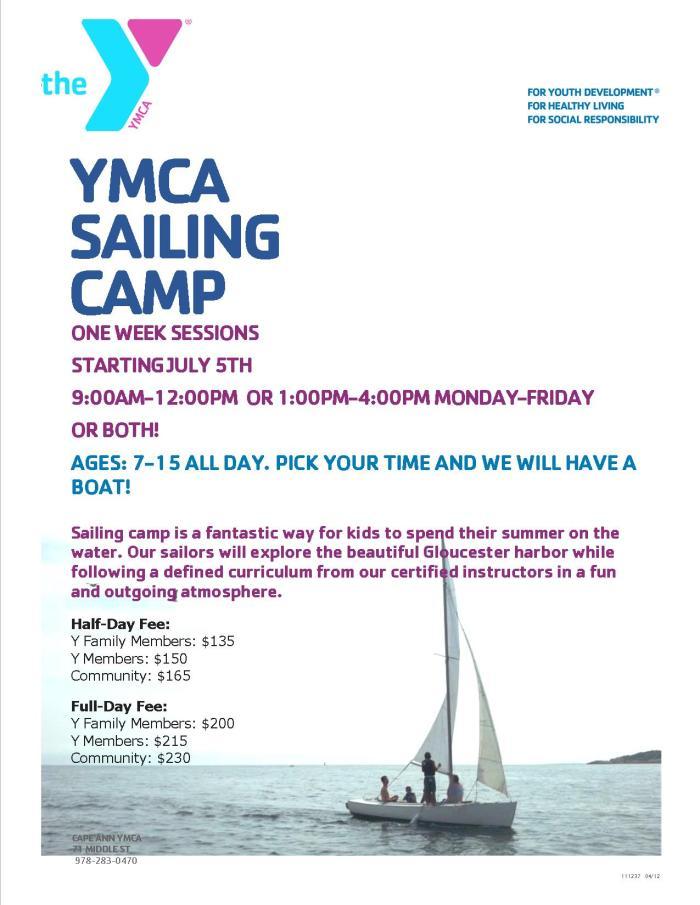 sailing camp 2016 flyer