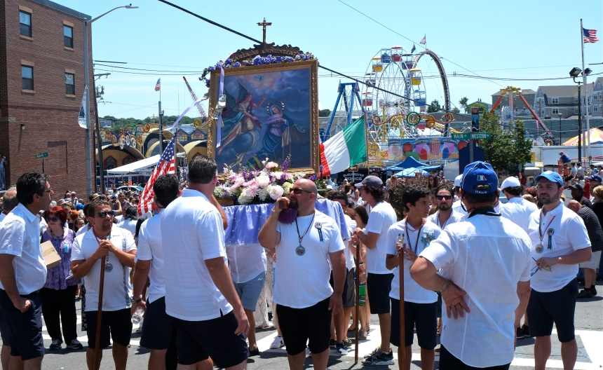 SAINT PETER'S FIESTA 2016 PROCESSION -6 copyright Kim Smith