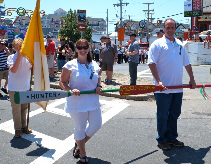 SAINT PETER'S FIESTA 2016 PROCESSION Melissa Cox Sean Nolan copyright Kim Smith
