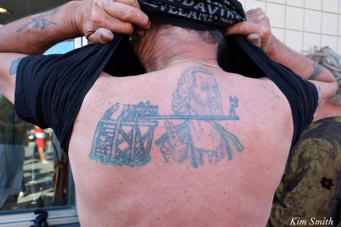 Salvi Benson Greasy Pole tatoo copyright Kim Smith