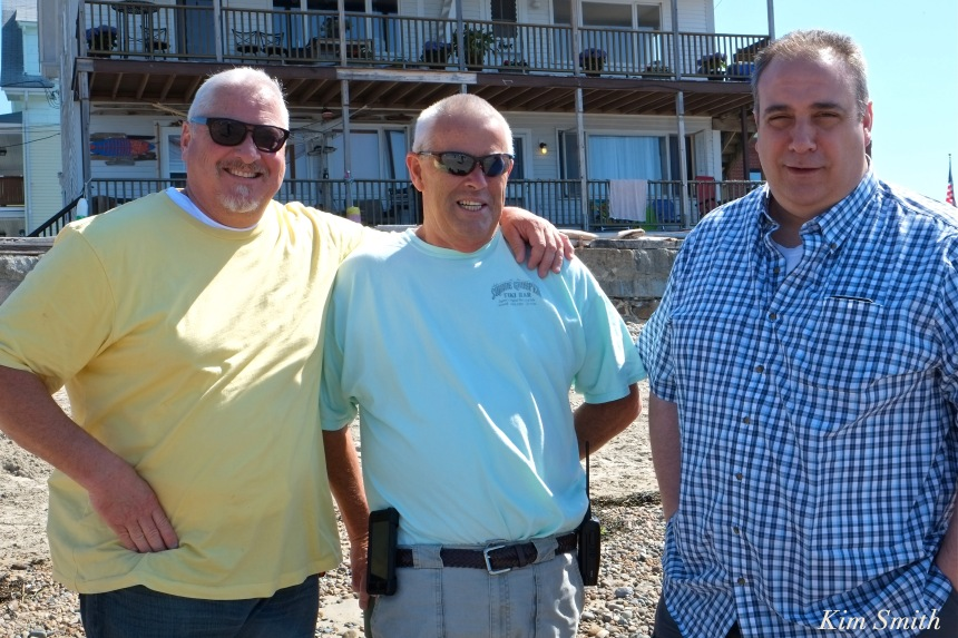 Steve Mizzoni, John McCarthy, Leonard Campanello Gloucester PD copyright Kim Smith