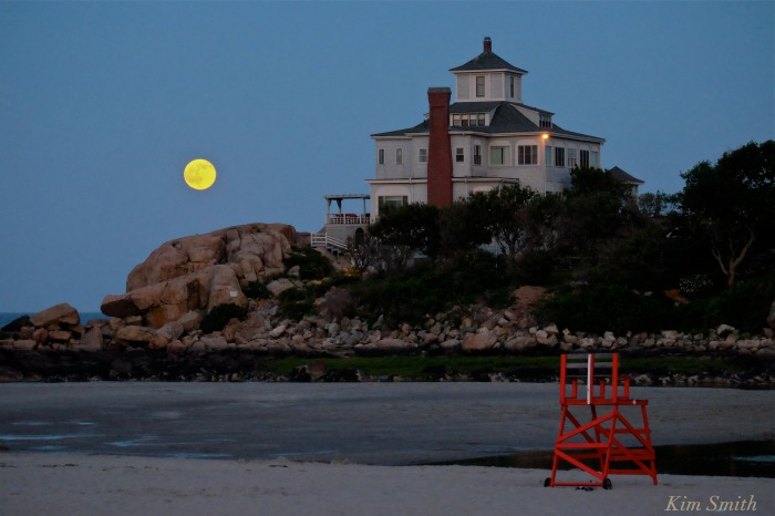 Strawberry Moon Summer Solstice Good Harbor Beach -2 copyright Kim Smith