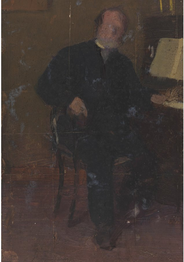 William Foster Biddle Cecilia Beaux PAFA gift of Sandwith Drinker