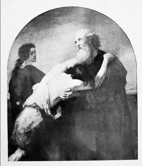William Morris Hunt Prodigal Son Brattleboro library