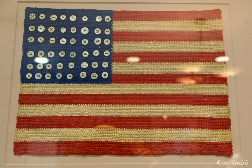 American Flag Folk Art -1 Kendall Hotel copyright Kim Smith