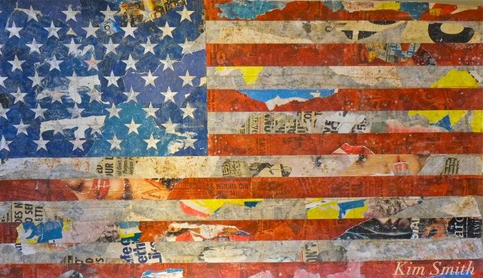 American Flag Folk Art -2 Kendall Hotel copyright Kim Smith