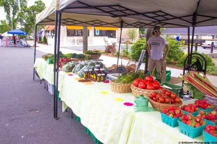 June 13, 2016 Marshall Farm Stand at the Magnolia Farmers' Market