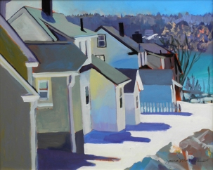 Winter Houses by Jana Matusz