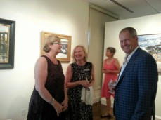 Director Ronda Faloon. Go see the Jeff Weaver painting and other new acquisitions.