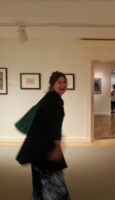 Artist Neta Goren will show her work on Rocky Neck later this month