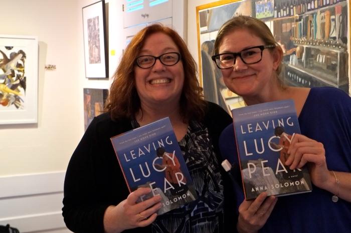 Anna Solomon Leaving Lucy Pear Book Launch RNCC -4 copyright Kim Smith