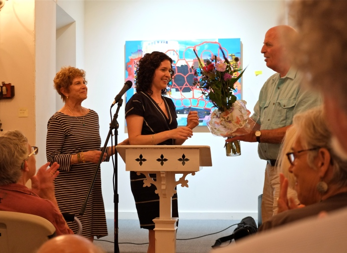 Anna Solomon Leaving Lucy Pear Book Launch RNCC copyright Kim Smith