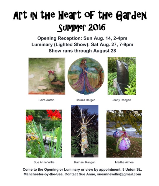 Art in the Heart of the Garden Flyer