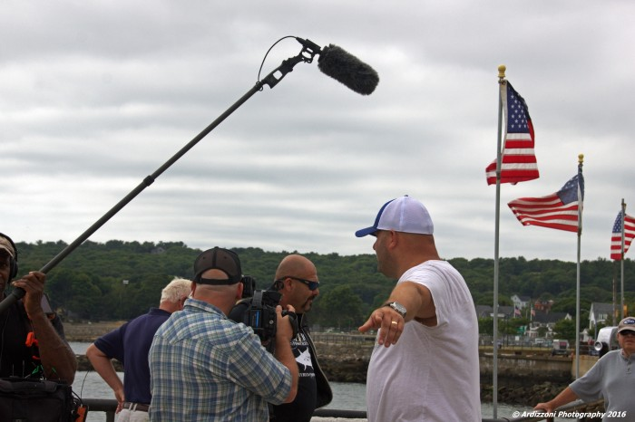 August 13, 2016 Dave from Wicked Tuna doing promo
