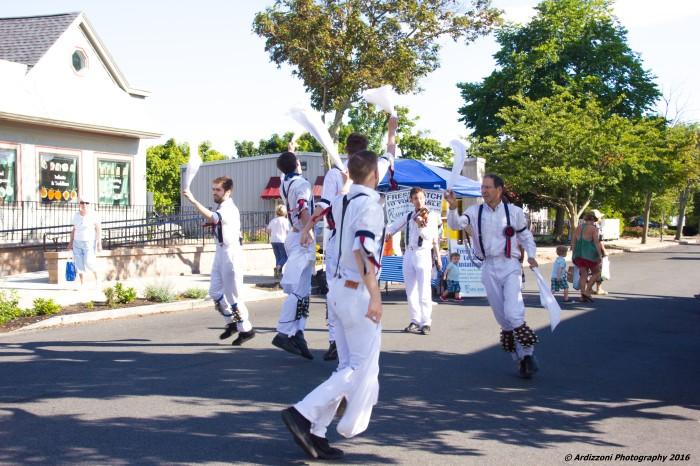 August 8, 2016 The Morris Traveling Dancing