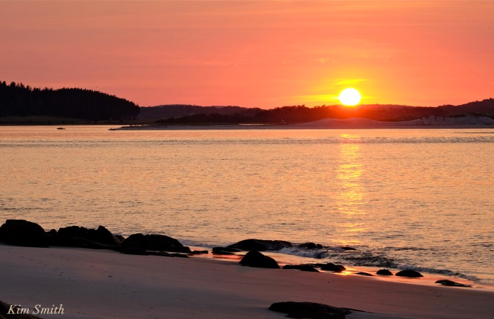 Essex Bay Sunset copyright Kim Smith