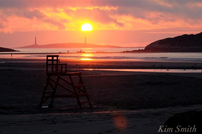 God Harbor Beach Sunrise August 3, 2016 -2 copyright Kim Smith