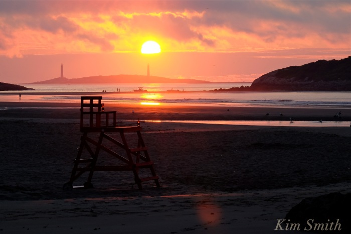 God Harbor Beach Sunrise August 3, 2016 -2 copyright Kim Smith