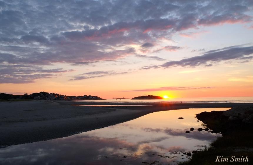 Good Harbor Beach Sunrise August 28, 2016 copyright Kim Smith