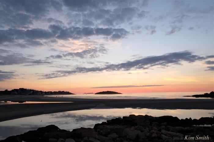 Good Harbor Beach Sunrise August 28 copyright Kim Smith