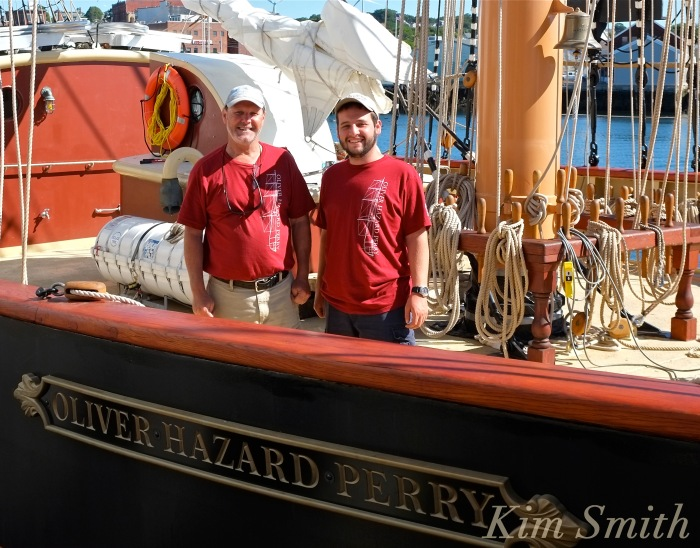 Oliver Hazard Perry ship Captain David Dawes Seaman Jake Daly Kim Smith