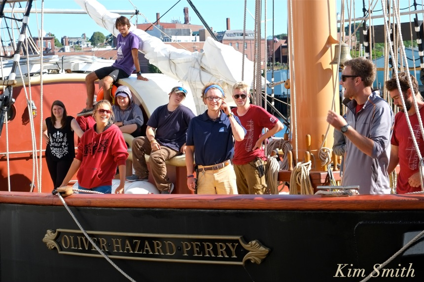 Oliver Hazard Perry ship students Kim Smith