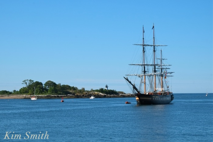 Oliver Hazard Perry ship Ten Pound Island copyright Kim Smith Gloucester