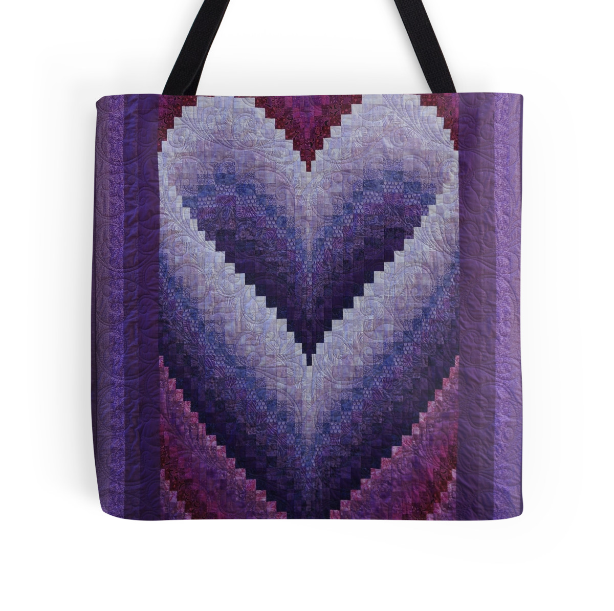 STUNNING HONEYMOON HEART BARGELLO QUILT HANDMADE BY RENATA GREENE ... : heart bargello quilt pattern - Adamdwight.com