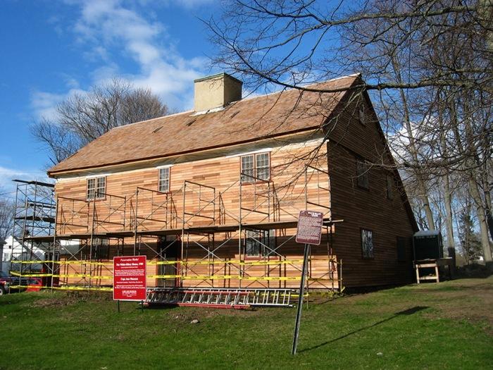 White Ellery new facade April 2009
