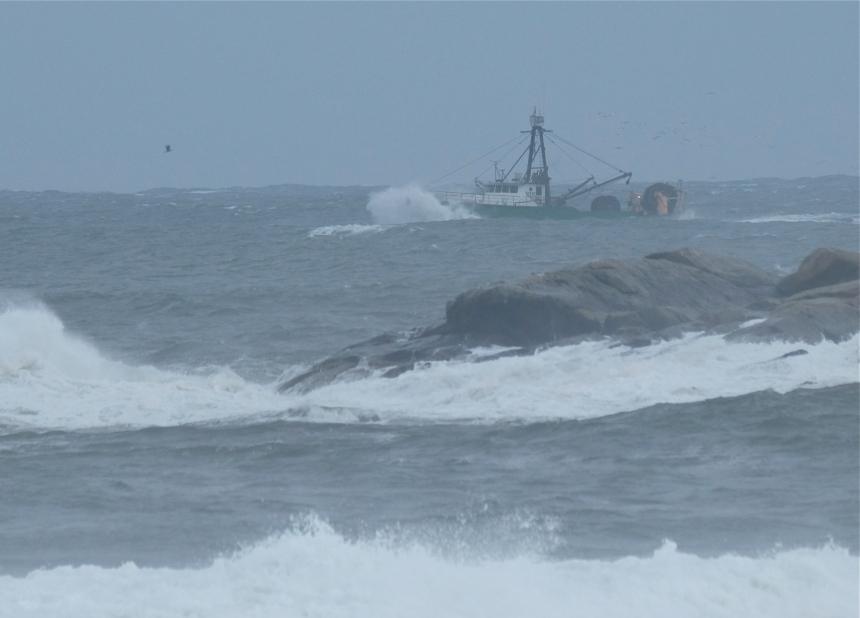Fishing Boat Hermine Brace Rock Gloucester -2 copyright Kim Smith