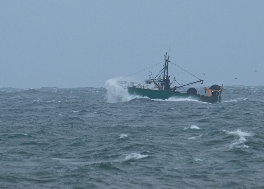 Fishing Boat Hermine Brace Rock Gloucester  -8 copyright Kim Smith