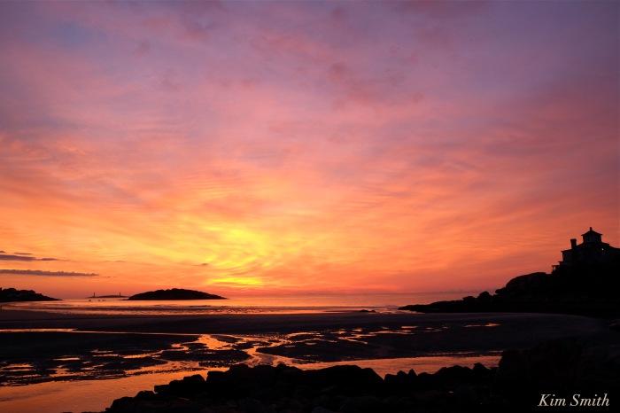 Gloucester Sunrise Good Harbor beach September 3, 2016 copyright Kim Smith