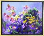 "#65 Katherine Coakley ""Nancy's Garden"" Acrylic"