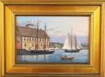 "#39 Ray Crane ""Lost Gloucester Icon"" Oil"