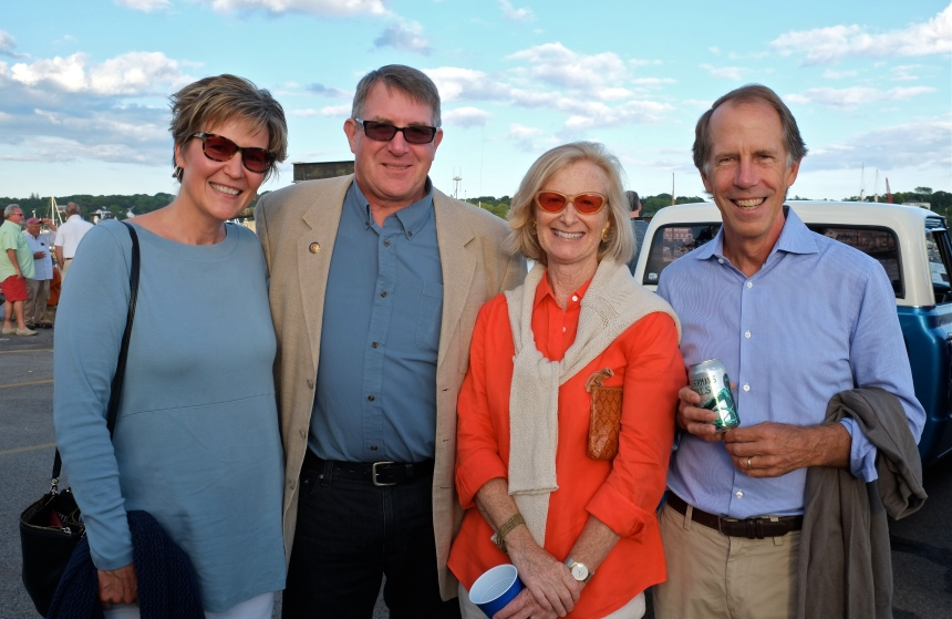 Schooner Festival Mayor's Reception Tony Abbie Gross Rhonda Falloon, Rob copyright Kim Smith
