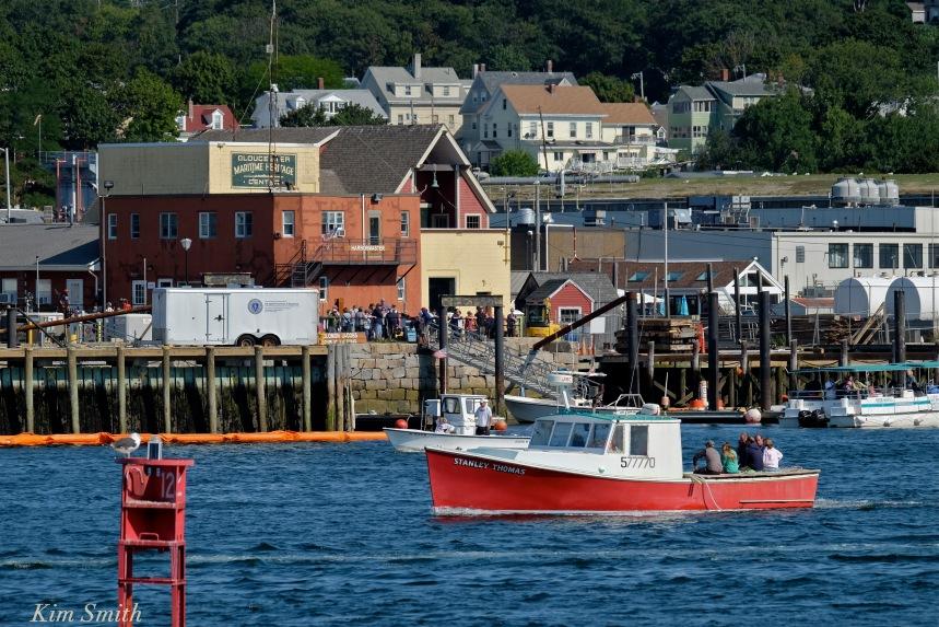 Stanley Thomas lobster boat Maritime Gloucester - Gloucester Schooner Festival copyright Kim Smith