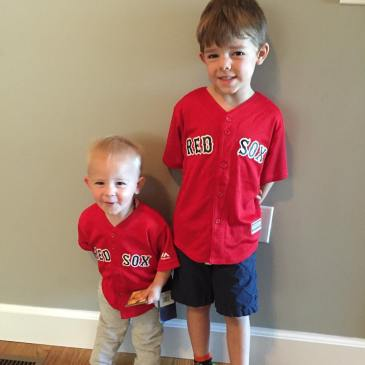 Got their gear ready to see Big Papi!