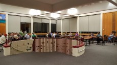 O'Maley Library has new shades from the Curtain Shop