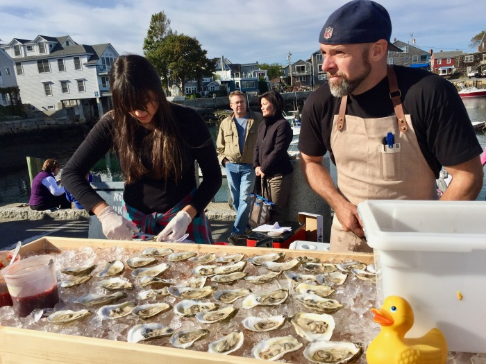 Pigeon Cove Tavern Oysters