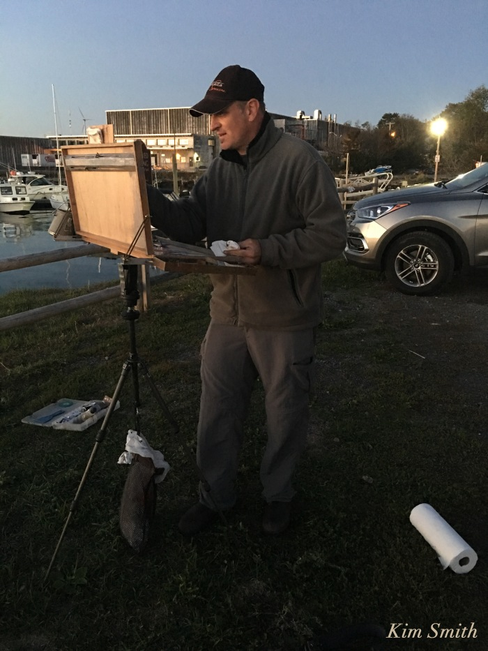 cape-ann-plein-air-painter-mitch-baird-gloucester-copyright-kim-smith