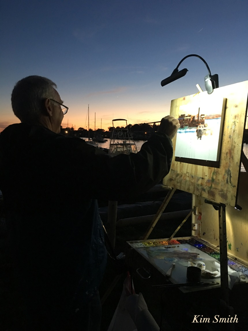 cape-ann-plein-air-painter-neal-hughes-gloucester-copyright-kim-smith