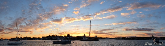 gloucester-harbor-sunset-copyright-kim-smith
