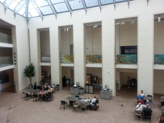 Peabody Essex Museum Hassam banners