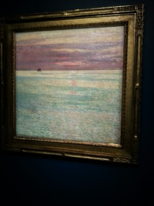 Childe Hassam Sunset at Sea 1911 anonymous loan