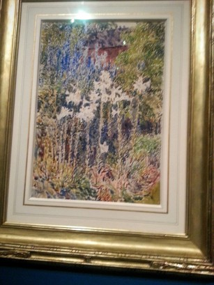 Childe Hassam, illustration for the Island Garden, w/c, 1892 from the Smithsonian (gifted in 1929)