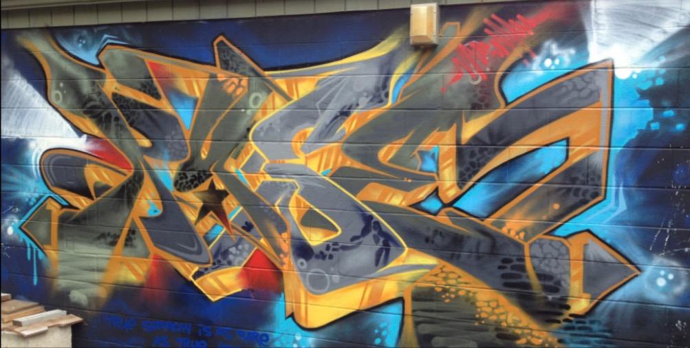 Nice street art Gloucester st Century Orphans by Danny Diamond graffiti writer and mural artist GoodMorningGloucester