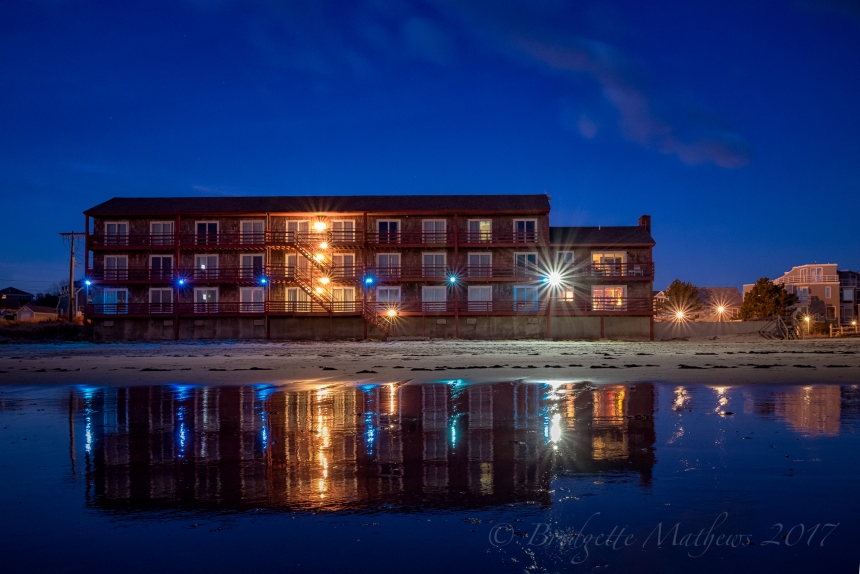 Cape Ann Motor Inn ~ just before sunrise