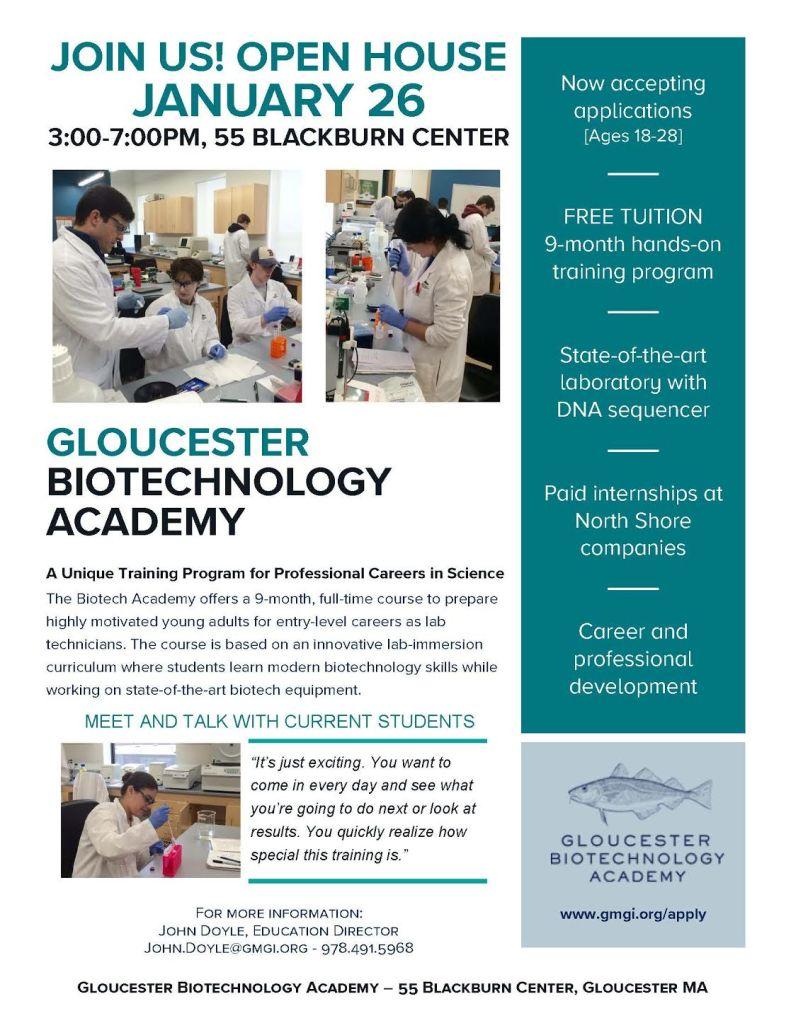 Gloucester Biotech Academy